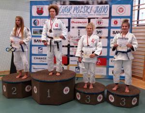 IX MPP judo juniorek Justyna Sliwa III miejsce.