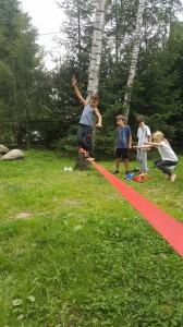 balansowanie na linie